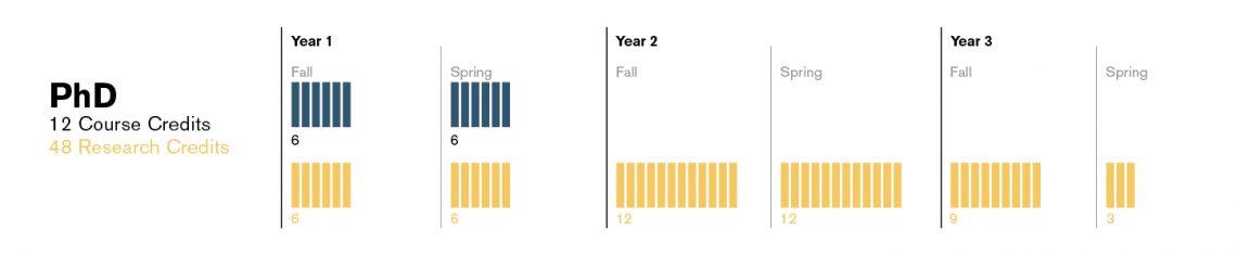 PhD Time Chart