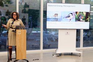 Seasonal energy management slide